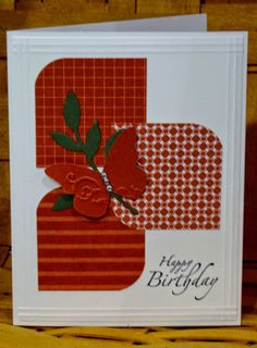 RnR Stamping: Pal's Blog Hop - Out With The Old!