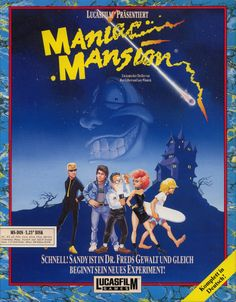 Maniac Mansion. God I loved this game!  Lucas Film.  Commodore 64. ~1988
