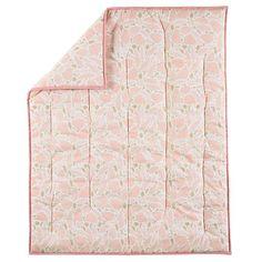 Little Girl's Room Design Land of Nod Well-Nested quilt