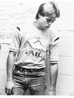 Brad Pitt en 1982