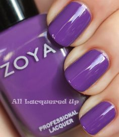 Zoya - Mira [David likes this colour. It's the same colour as his shirt! (not really, his shirt is a bit more pastel, but he's not good with colour)]