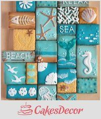 CakesDecor Theme: Summer Cakes, Cupcakes and Cookies - CakesDecor
