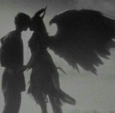 demon and angel aesthetic Devil Aesthetic, Gray Aesthetic, Black Aesthetic Wallpaper, Black And White Aesthetic, Aesthetic Wallpapers, Couple Aesthetic, Aesthetic Anime, Crying Aesthetic, Aesthetic Grunge Tumblr