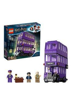 LEGO 75957 Harry Potter Knight Bus Toy Triple-decker Collectible Set with Minifigures Games Toys Toys Games Figures-Vehicles Vehicles Vehicles Lego Harry Potter, Harry Potter Quidditch, Harry Potter Review, Harry Potter Merchandise, Shop Lego, Buy Lego, Legos, Lego Ritter, Figurine Lego