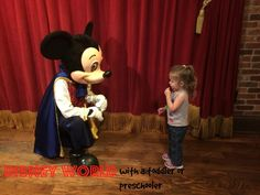 Tackle Disney World with a Toddler or Preschooler
