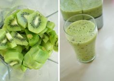 super simple,delicious and healthy kiwis+unsweetened yoghurt 2 Ingredients, Recipe Box, Super Easy, Healthy Recipes, Spring, Ethnic Recipes, Food, Essen, Eten