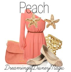 Peach (Finding Nemo) inspired outfit