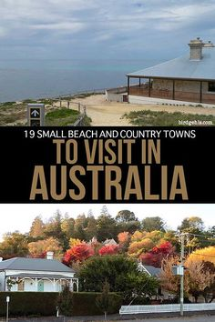 Want to get off the beaten path in Oz? Put any of these small towns in Australia straight onto your itinerary and experience the country from a local's POV. Brisbane, Melbourne, Sydney, Travel Advice, Travel Guides, Travel Tips, Travel Oz, Beach Travel, Cheap Travel