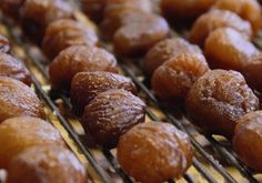 How to make Marrons Glaces, French candied chestnuts