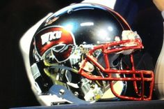 wku football images | Bobby Petrino maybe unveils chrome WKU helmets - SBNation.com