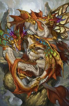 2015 Zodiac Dragons - Pisces by The-SixthLeafClover on deviantART