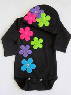 Take home baby girl outfit  newborn onesie by FiestaKidsBoutique, $29.00