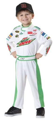 nascar racing dale earnhardt costume for kids children
