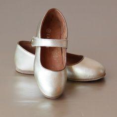 L'Amour Ankle Strap Ballet Flat