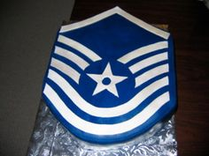 Msgt Promotion Cake First Shot at a Rank Cake