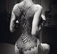 Beautifully symmetrical Full Back tattoo   http://ift.tt/1HJF3wD via /r/woahdude http://ift.tt/2fgYyZE