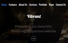 Viber Free Bootstrap Responsive web template