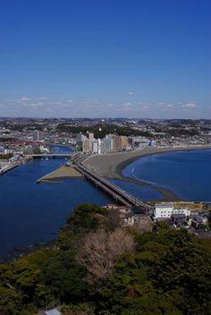 View From Enoshima 江ノ島灯台より,Japan