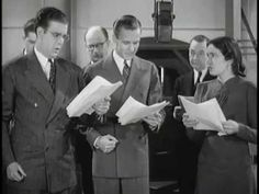 Back of the Mike 1938 - Radio sound effects creation. - YouTube