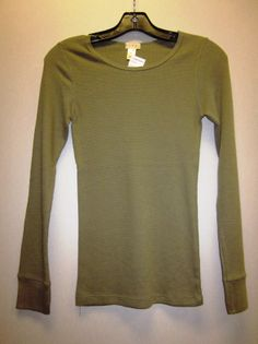 ladies thermal  60% cotton 40% polyester S-M-L  reg. $9.99 (on clearance for 50% off)