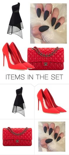 """alyson"" by marian-cd ❤ liked on Polyvore featuring art"