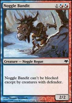 Noggle Bandit ($.19) Price History from major stores - Eventide - MTGPrice.com Values for Ebay, Amazon and hobby stores!