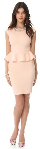 (Was $264.0) $79.2  Alice + olivia Victoria Peplum Dress