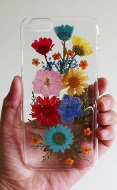 Pressed Flower iphone 6 case