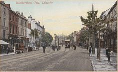 Humberstone Gate 1905 Leicester, Vintage Postcards, Gate, Street View, History, Architecture, History Books, Historia, Architecture Illustrations