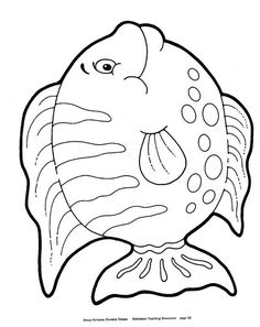 fish coloring page - S Coloring Sheets