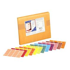 Pendaflex Monthly Colour-Coded Labels 16 LABEL/SHEET 15 SHEETS/MONTH 240 LABELS EACH MONTH  240 labels of each month; January-December 2,880 labels per box Datafile compatible  $115.91