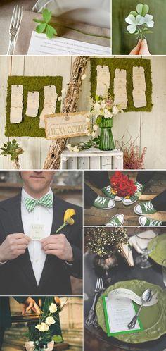 St. Patrick's Day Wedding Ideas