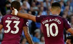 Man City: Gabriel Jesus and Sergio Aguero learn to share
