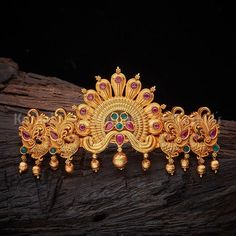 Buy Designer Hair Brooch For Women Online- Kushal's Fashion Jewellery Hair Accessories For Women, Bridal Hair Accessories, Bridal Jewelry, Gold Jewelry, Saree Brooch, Hair Brooch, Arm Bracelets, Hand Designs, Anklets