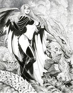 Arthur Adams - Goblin Queen