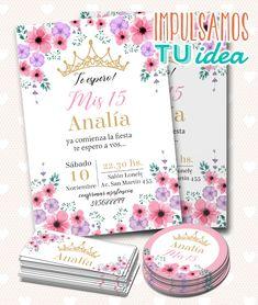 Invitation Card Printing, Invitation Cards, Quince Invitations, Birthday Invitations, Bridal Shower, Baby Shower, 15th Birthday, Birthday Ideas, Brunch Party