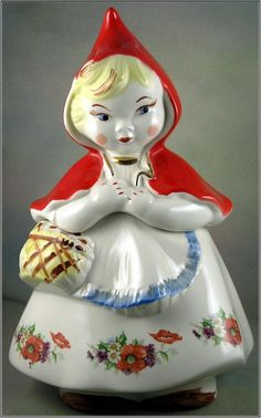Ceramic Hull Pottery Regal China Little Red Riding Hood Cookie Jar.  I have this cookie jar, a tea pot and a pitcher.