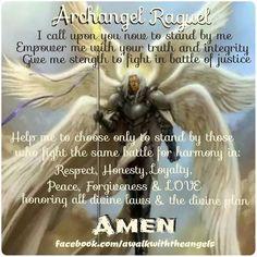 Archangel Raguel OH my ! Archangel Jophiel, Archangel Prayers, Angel Guide, I Believe In Angels, My Guardian Angel, Angels Among Us, Angel Pictures, Angel Cards, Archangel Michael
