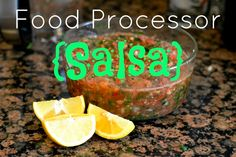 KitchenAid Food Processor Salsa - Very good recipe told in a funny, helpful way. I would use less cilantro next time.