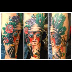 My latest tattoo. Artist: Miguel Olascuaga at Forever Yours Tattoo Gallery, Atlanta, GA