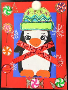 "smART Class: Winter One Day Projects ""Nutcrackers"" and ""Penguins"""