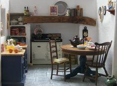 mini Cornish kitchen