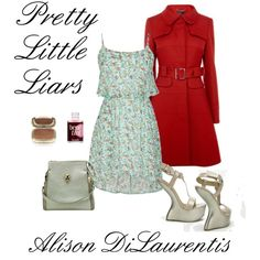 We styled Alison DiLaurentis from #prettylittleliars with shoes and handbags from #GuiltySoles. Join our 49.95 yearly membership program and get these items for just 19.95.