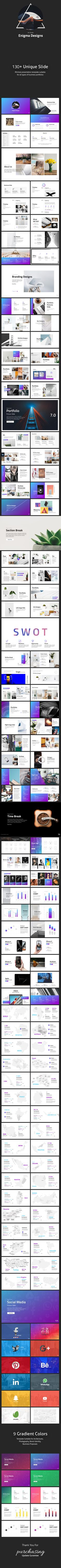 Buy Enigma - Minimal Presentation Template by afomindia on GraphicRiver. Limited Time Offer: Arc – Animated Presentation Template What's Included Enigma – Minimal Presentation Template – Bl. Best Powerpoint Presentations, Powerpoint Presentation Templates, Keynote Template, Graphisches Design, Graphic Design, Alpha Omega, Entrepreneur, Business Proposal, Cool Animations