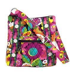 Just bought this and I love it!!! Vera Bradley Hipster (Va Va Bloom) $60.00 #VeraBradley #Handbags