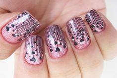 arcylic nail design