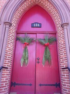 2014 Palm Sunday church entrance