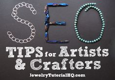 SEO Tips for Artists and Crafters. Give your Online Shop a Boost with these simple Search Engine Optimization techniques for your Etsy, Artfire, or CraftStar shop! Etsy Business, Craft Business, Business Tips, Online Business, Seo Help, Seo Techniques, Seo Tips, Free Website, Search Engine Optimization