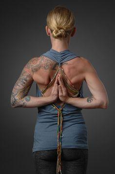 Pashchima Namaskarasana - Reverse Namaste - Secret Prayer Mudra