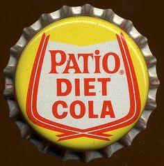 Patio Diet Cola, 1960's